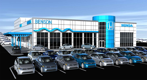 Auto dealership design projects architects san antonio texas for Benson honda san antonio