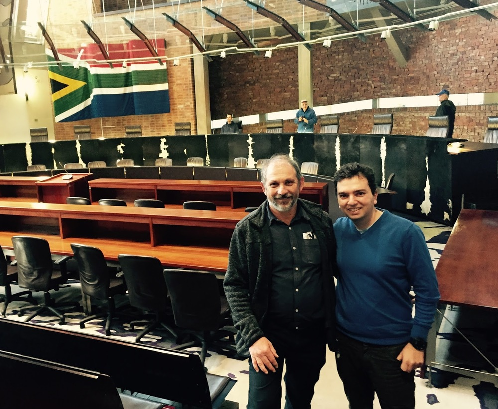 Visit to the Constitutional Court with former prisoner Alan Fine