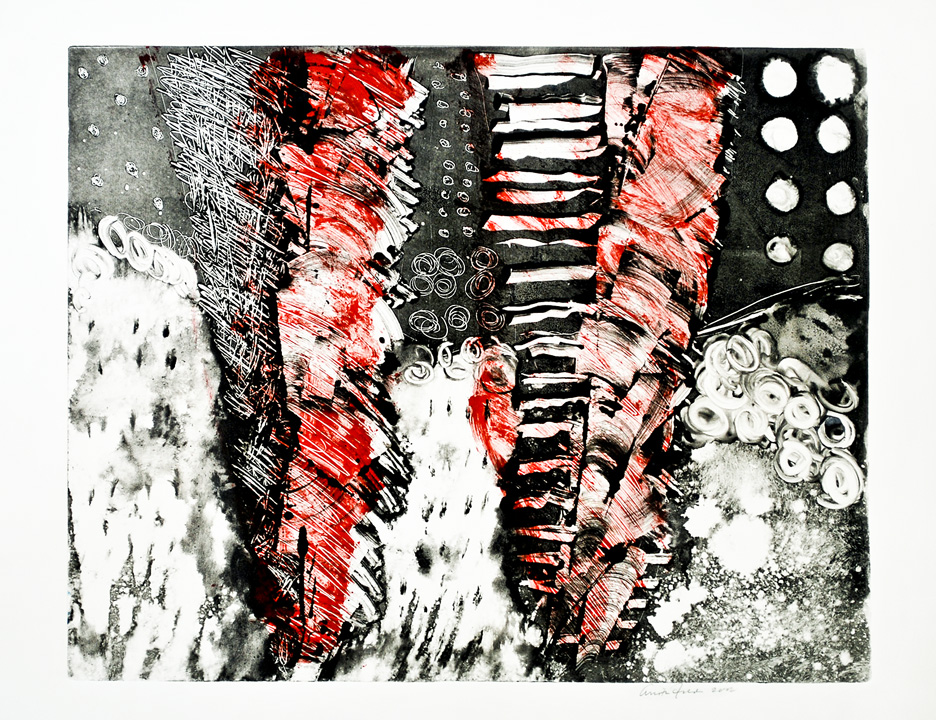 2-D Intaglio print