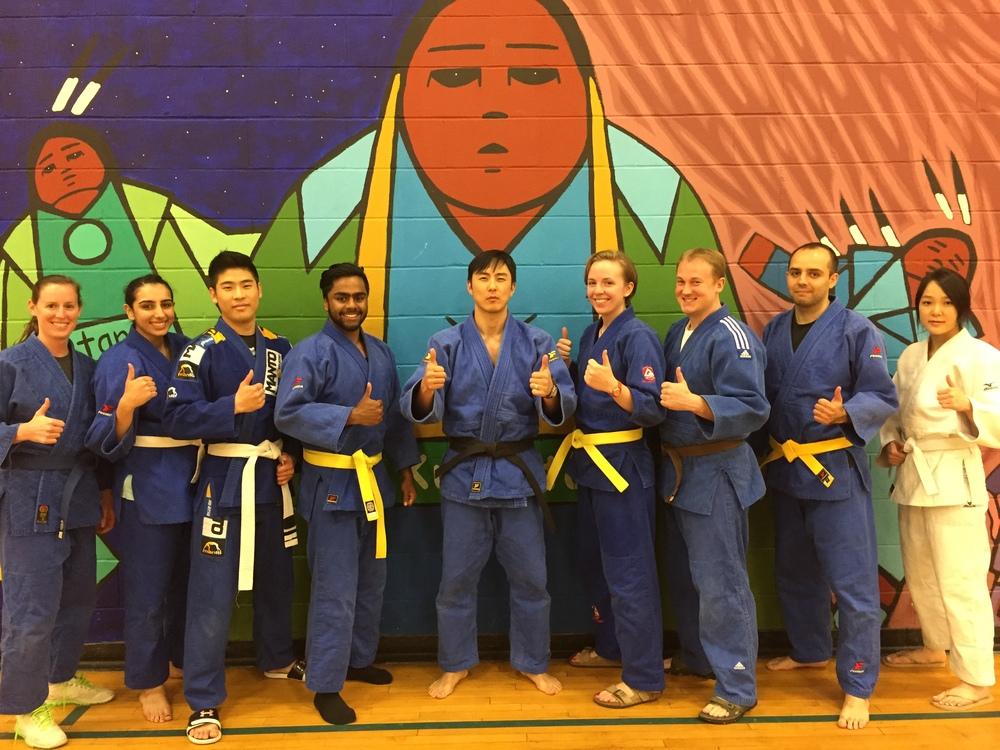 Ray Cam Judo Volunteers - April 2015