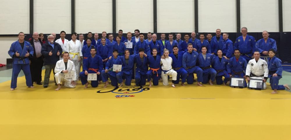 SFU Police Judo Grading Dec 2015