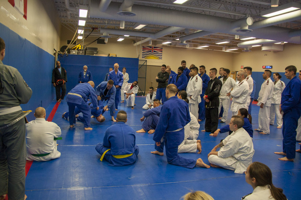 Rolling a difficult guy forward - Police Judo Clinic May 2018.jpg