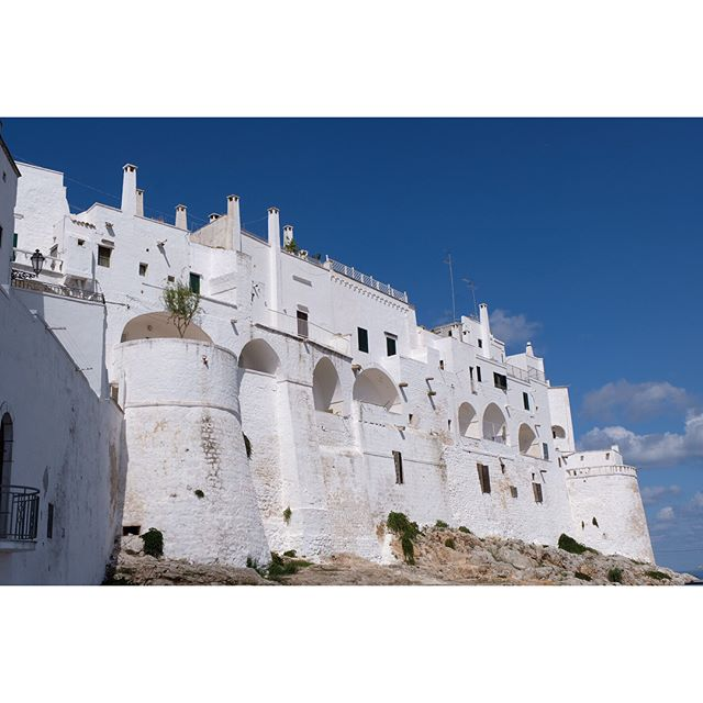 They don't call Ostuni the white city for nothing #white #ostuni #puglia #italy