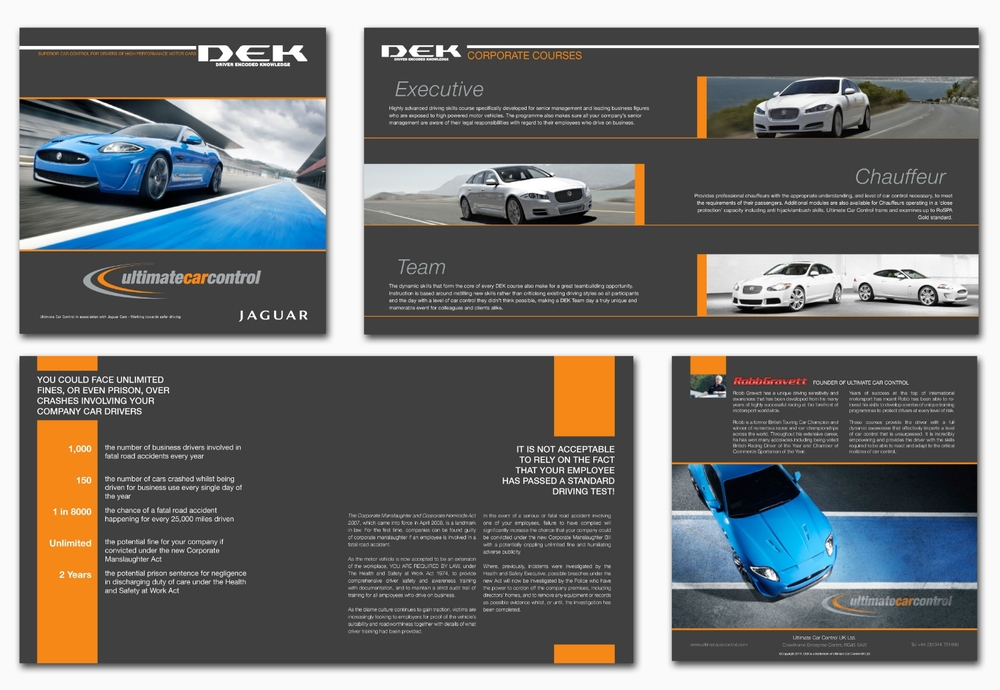 Jaguar Driver Encoded Knowledge Brochure