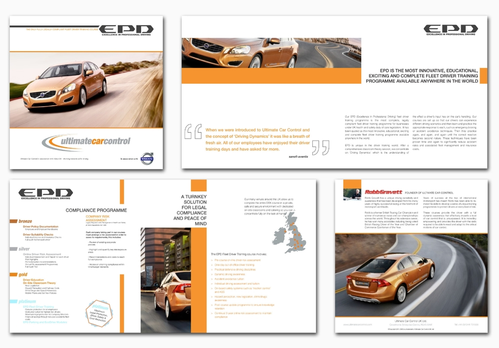 Volvo Excellence in Professional Driving Brochure