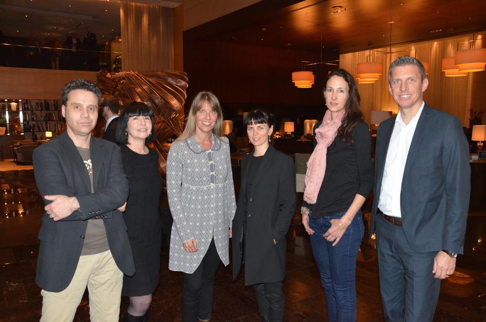 Der neue Vorstand des STC: Andreas Güntert, Eva-Maria Panzer, Katharina Deuber, Sonja Hülsen, Vanessa Bay, Dan Bärlocher