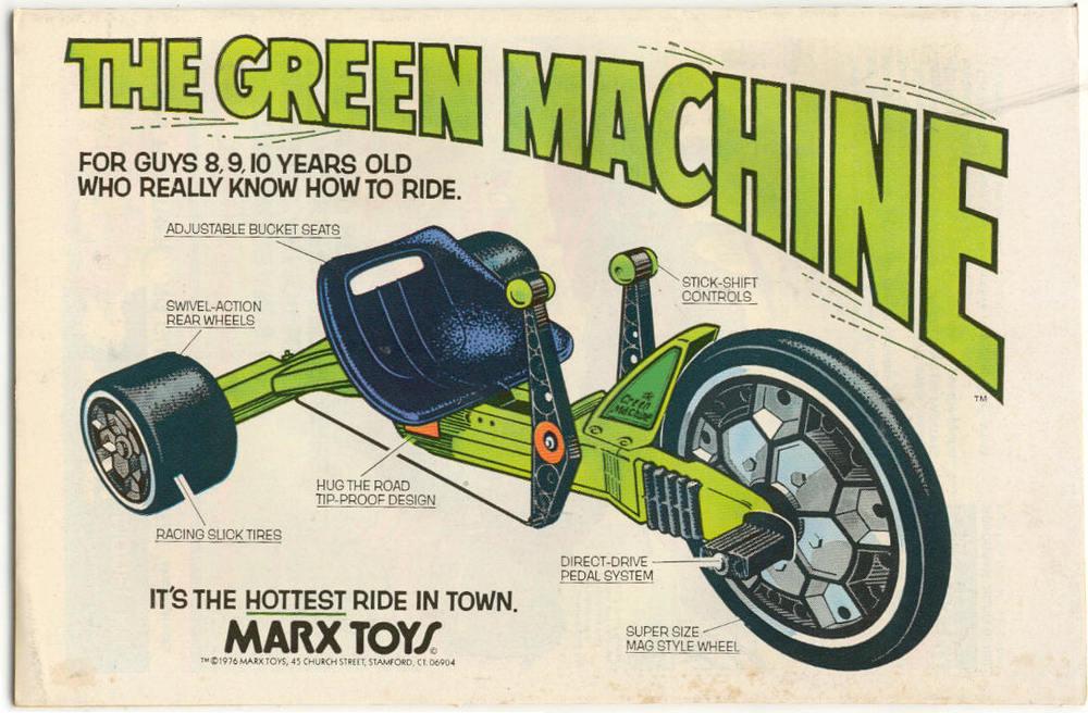 Green Machine specs