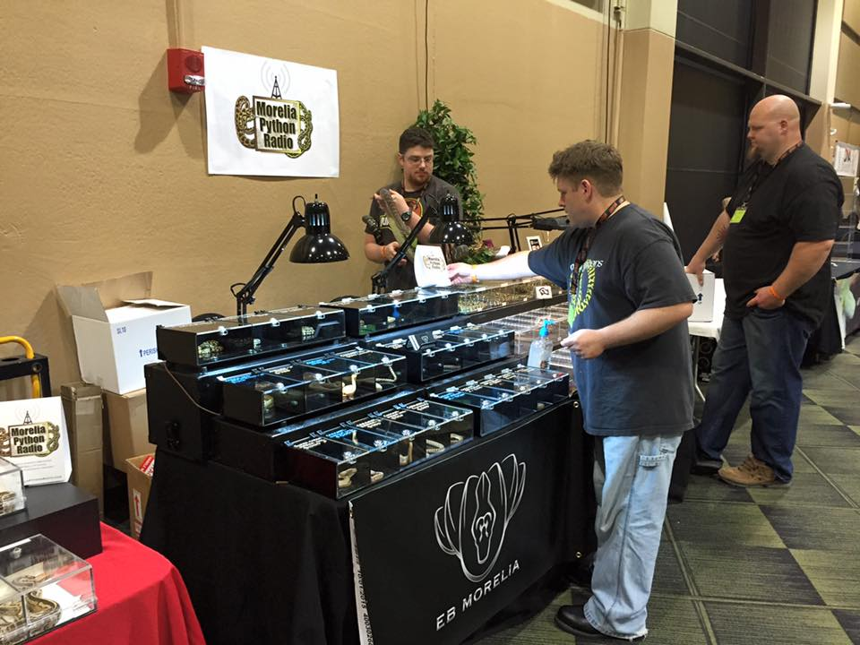 Setting up at the 2016 Oct Tinley Park show