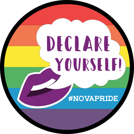 "Declare Yourself! - this year's festival theme is ""Declare Yourself!""We are inviting everyone in the pro-equality community to attend our festival, bringing with them open hearts and an appreciation for diversity, inclusion, and acceptance.NOVA Pride wants our attendees to be provided their unalienable rights of life, liberty, and happiness – to live each day without reservation or fear of being who they are.We recognize the difficulty for some to accomplish this every day, but on this day, we invite everyone to come as they are, celebrate who they are, and feel safe in doing so."