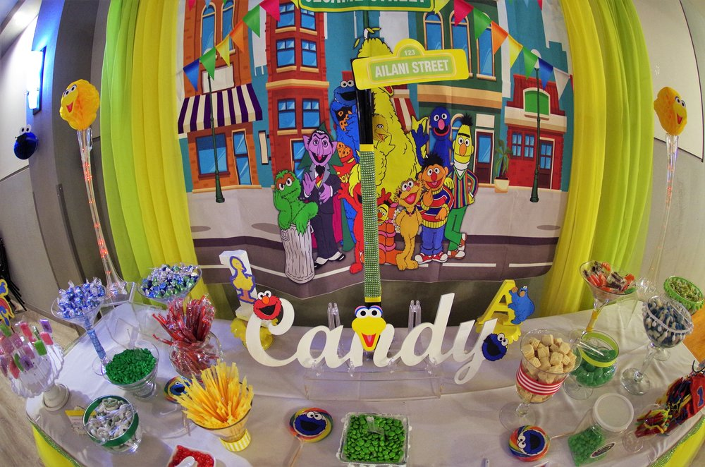 Kreations By Kathi First Birthday Party Design Sesame Street 16