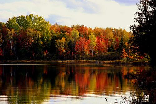 Moosehead Lake, Maine. Flickr user: Dana Moos