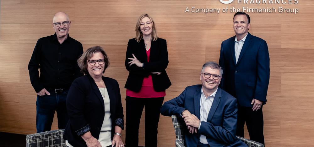 The Executive Team at Agilex Fragrances