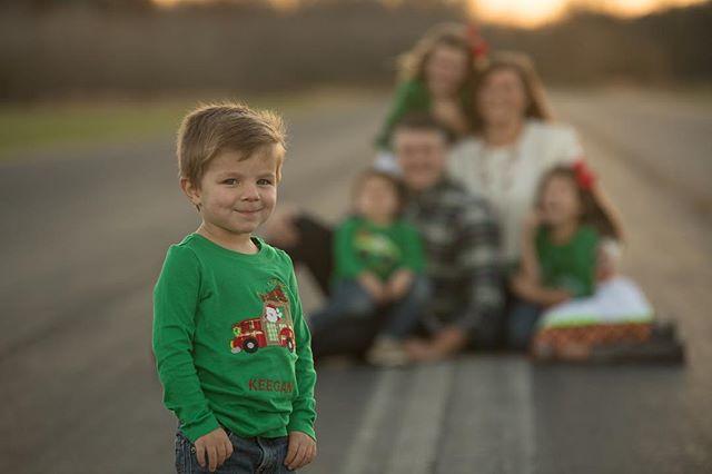 Youngest and loving it!  #holidayphotoshoot #latergram #nashvillephotographer #familyphotography