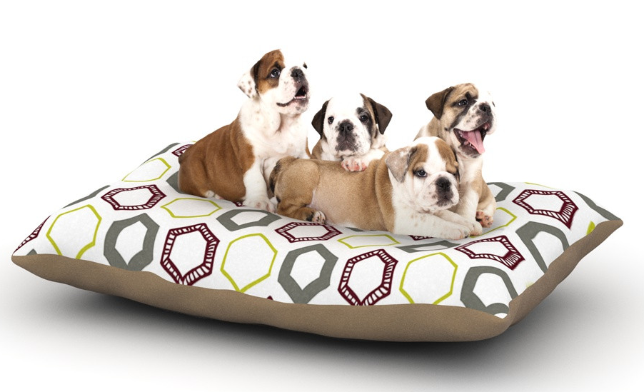 Little Hexy dog bed by Laurie Baars. Available at: http://kessinhouse.com/pages/laurie-baars