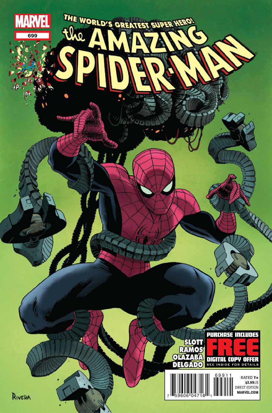 Written by Dan Slott, Art by Humberto Ramos