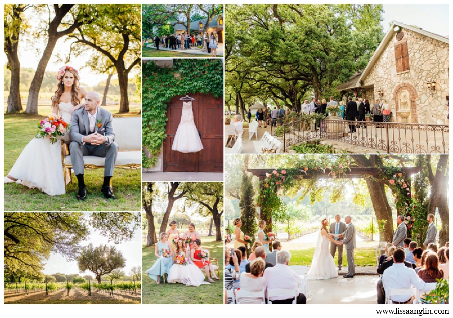 CHRISTOVAL VINEYARDS IS A WIDE-OPEN, LOVELY PLACE WITH MANY CEREMONY AND RECEPTION OPTIONS- AND OF COURSE, PLENTY OF WINE!