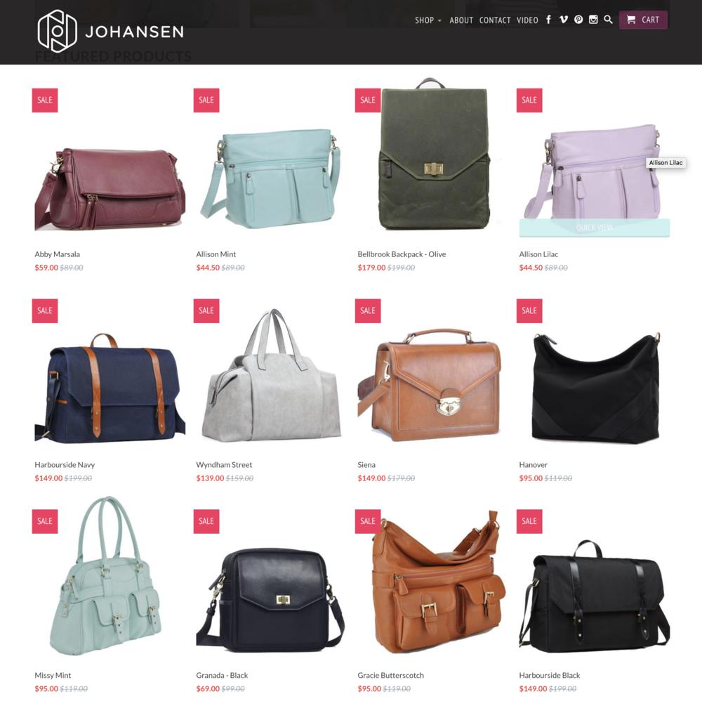 Every camera bag on sale @ jototes.com! - I shoot with the Hanover bag!
