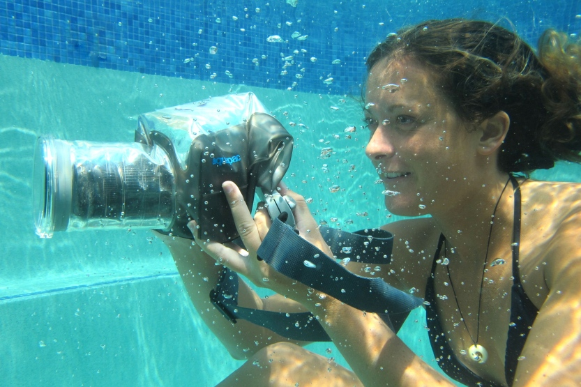 Waterproof DSLR case- how fun! This would come in handy in the summertime! $99!