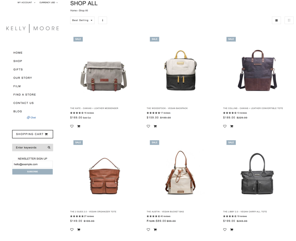 Major sale on all Kelly Moore camera bags! - I have the Kate bag and love it!