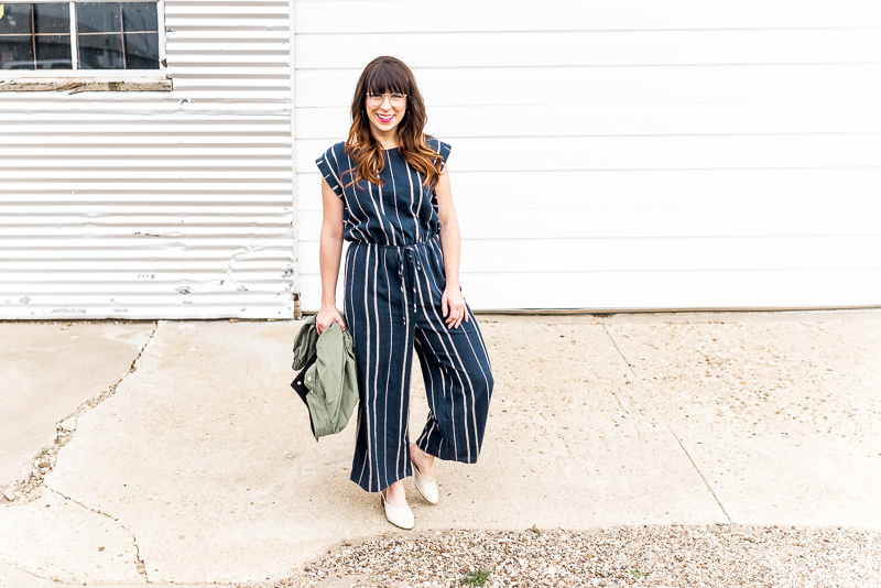 Another WINNER of a jumpsuit- super flattering on that mommy tummy! Shop this look here:  https://www.liketoknow.it/ltk/2sw4q5oqzf2OoMYLuIxN6i