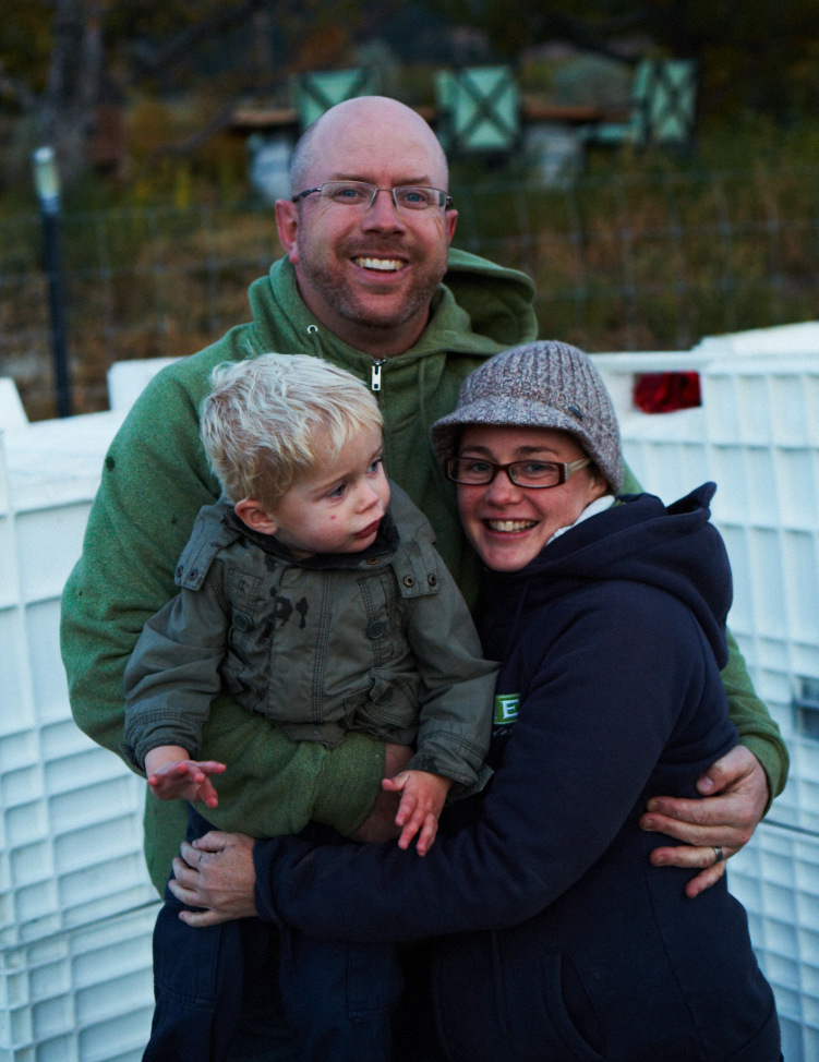 Michael Dinn, Heidi Noble & little Theo  - Photo credit: John Cullen