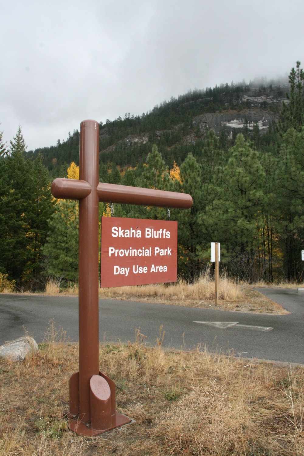 Skaha Bluffs provincial park surrounds the vineyard, protecting it from expansion or outside development.