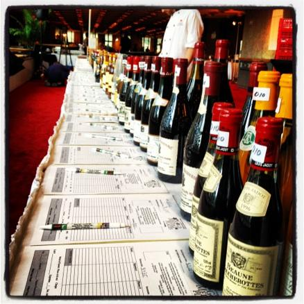 The legendary silent wine auction that accompanies the event.