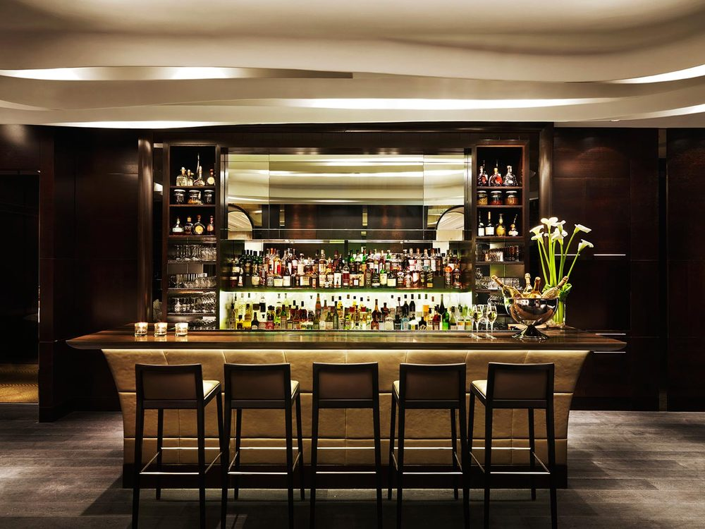 The bar at Hawksworth