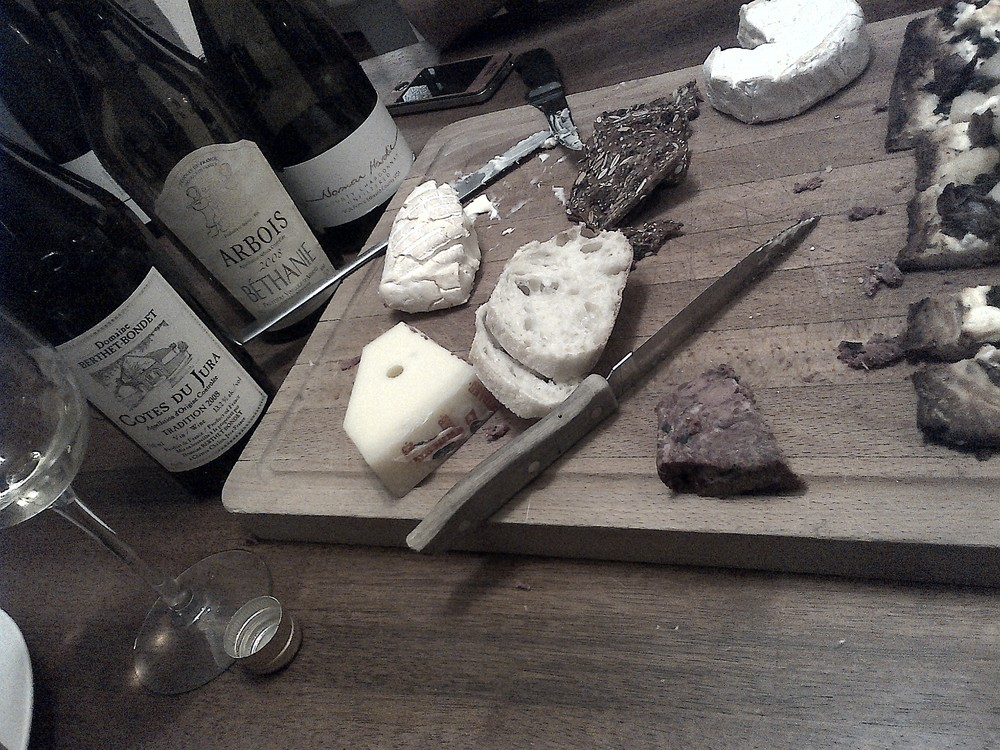 Dirty wines for a night of dirty cheese and oysters. Jura and Prince Edward County certainly fit the bill.