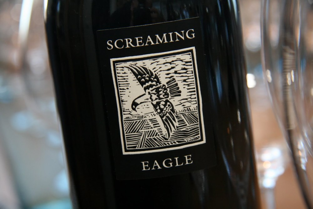 Napa Valley's Screaming Eagle, the picture of Robert Parker's influence.