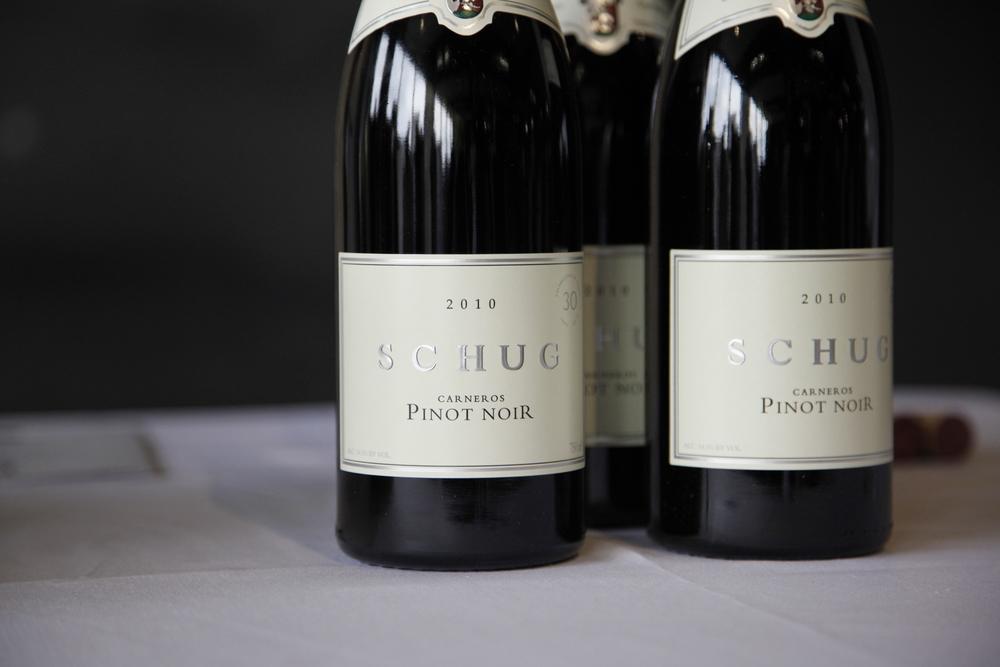 Walter Schug's pioneering Carneros Pinot Noir.