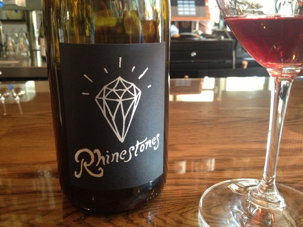 The Rhinestone Gamay/Pinot Noir from Bow and Arrow.
