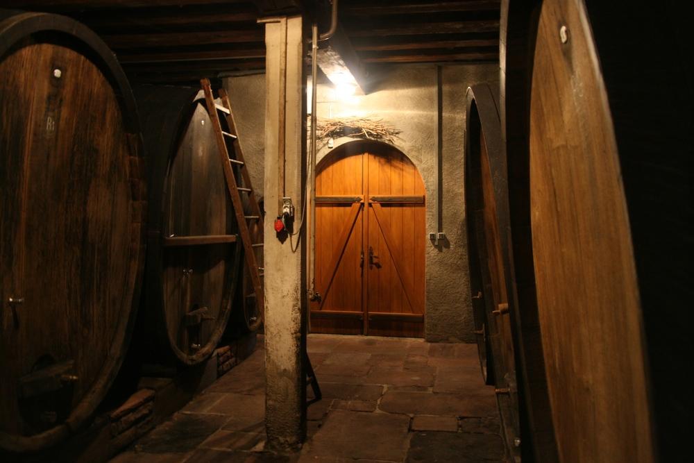Weinbach cellar.