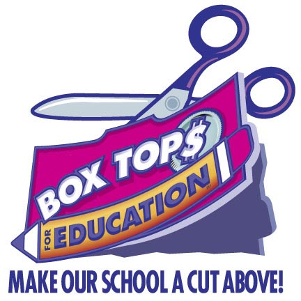 Don't forget to watch for, cut out, and bring all those boxtops to the schoo