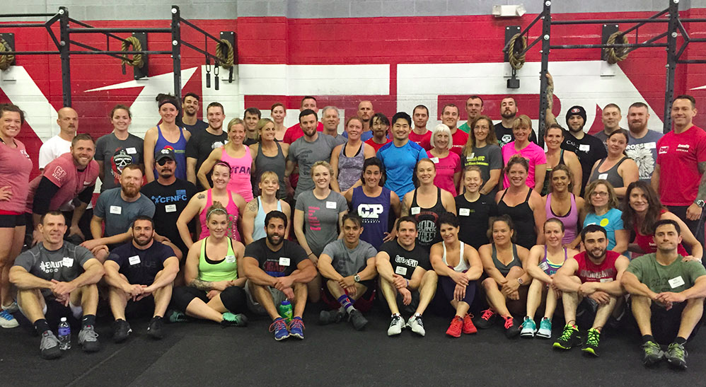 CF-L1 Trainer Seminar, CrossFit Verve, Denver Colorado April 11-12, 2014