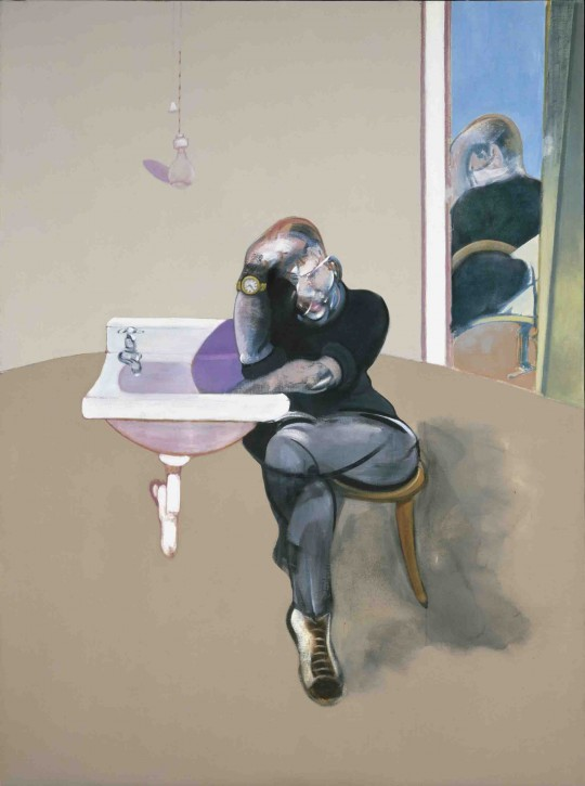 Francis Bacon,  Self Portrait  (1973)