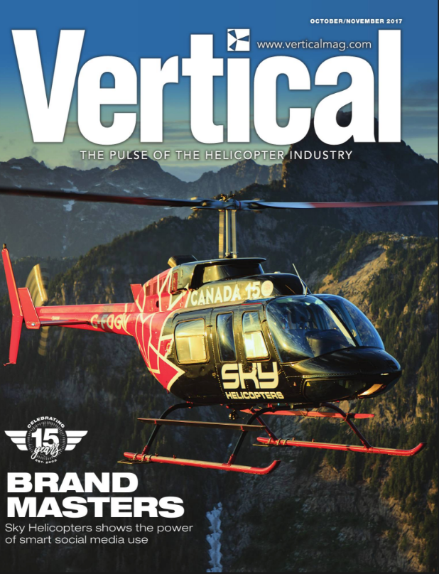 ' The Masters of Marketing ' cover story in Vertical Magazine