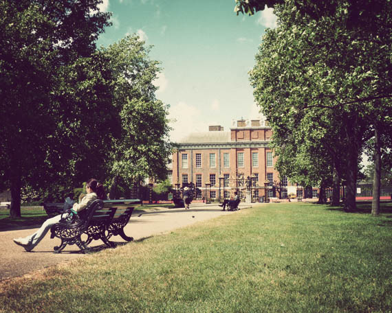 Kensington Palace and Gardens near Hyde Park