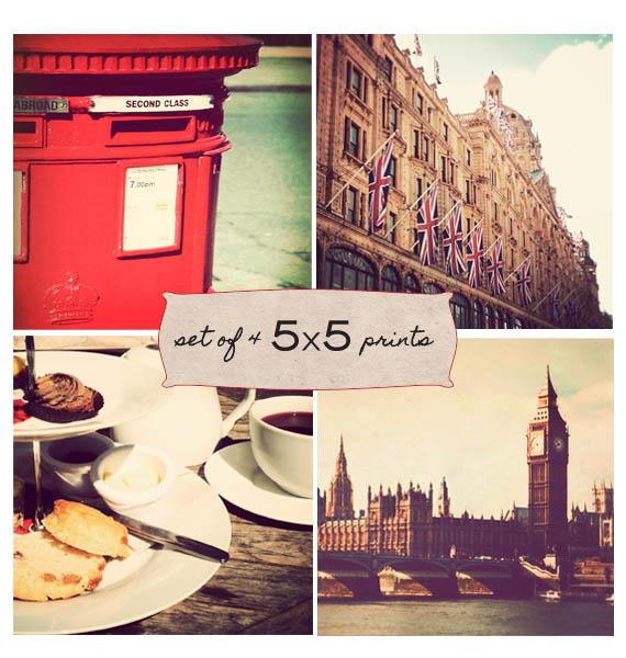 London Print Set