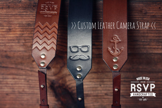 Custom Leather Camera Straps