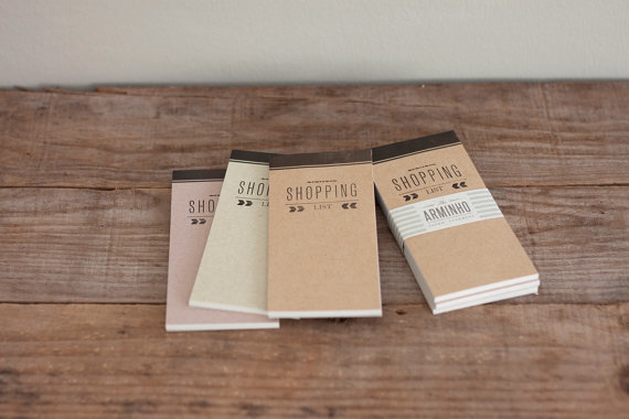 Shopping List Notebooks