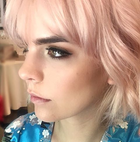 """Question- I'm going to Tokyo next month. Can I borrow your look for a week?"" She said ""Yes!""🤗 Dreaming in shades of pink.  Makeup: #SoireeBrandi + Hair: #SoireeMish 💕  #makeupartist #hairstylist  #weddingmakeupartist #weddinghairstylist #bridalmakeup #bridalhair #weddingmakeup #weddinghair  #californiawedding #southerncaliforniawedding #losangeleswedding #hollywoodwedding #orangecountywedding #sandiegowedding #sandiegomakeupartist #sandiegoweddingmakeupartist #sandiegoweddinghairstylist  #sandiegoweddingplanner #sandiegoweddingphotographer #girlboss #mobilebeauty  #soireebeauty #soireebeautyconcierge  #beautyteam #soireebeautyteam"