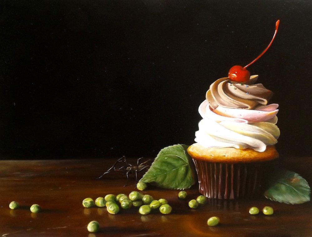 Cupcake and Peas