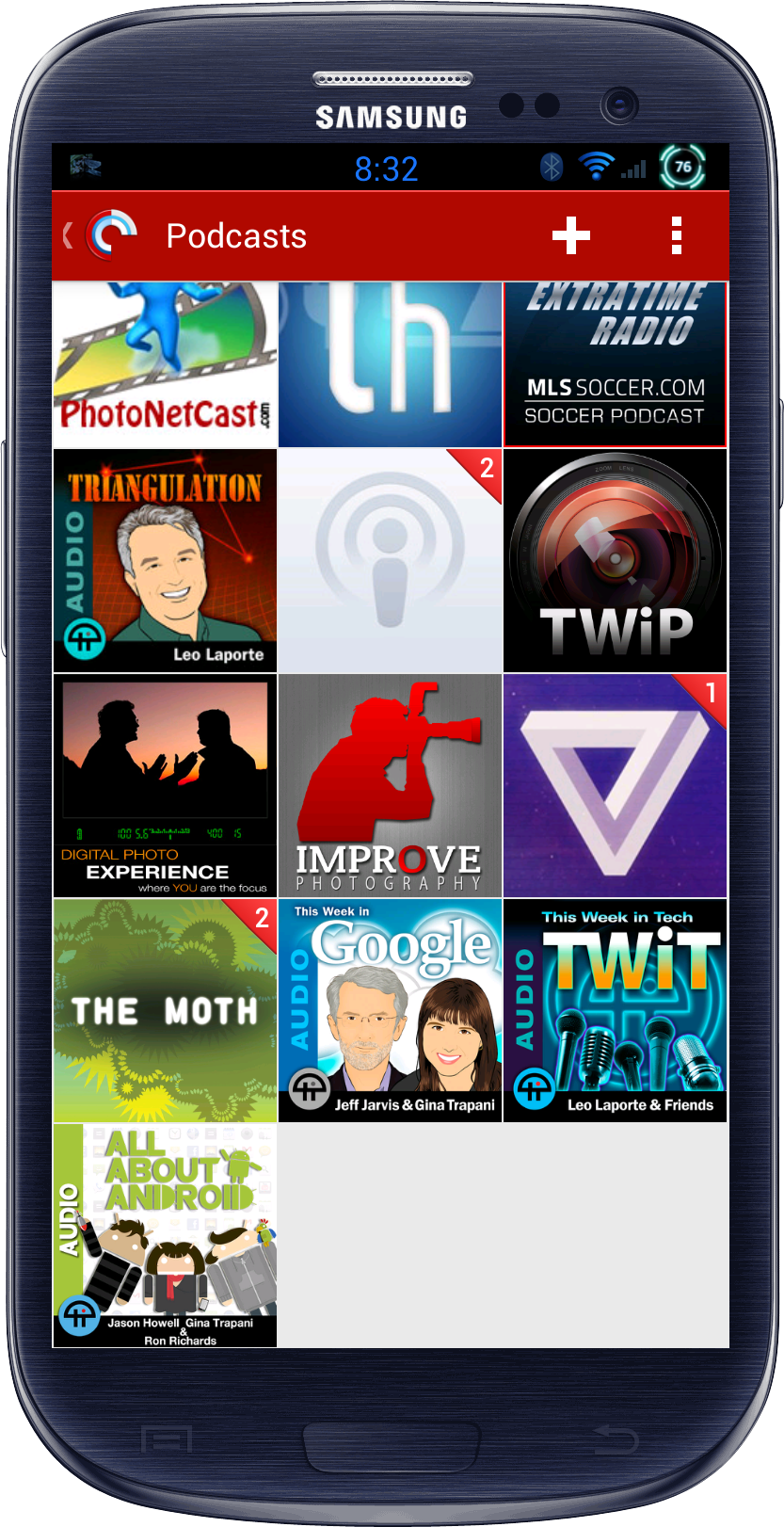 Page 2 of Podcasts - Triangulation, Sword and Laser, This Week in Photo, Digital Photo Experience, Improve Photography, The Verge, The Moth, This Week in Google, This Week in Tech, All About Android.