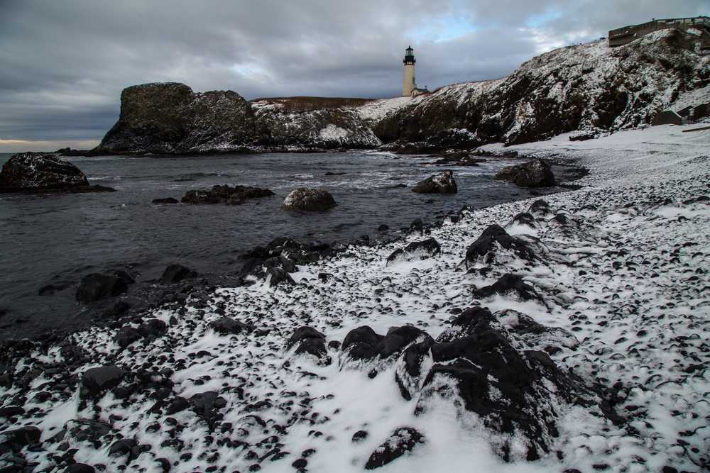 Yaquina Head Lighthouse Snowy Beach 2013-3.jpg