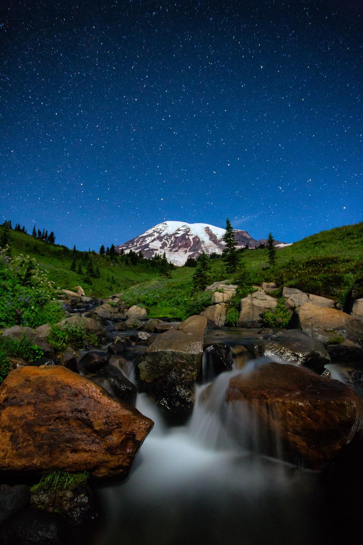 Mt. Rainier Twilight