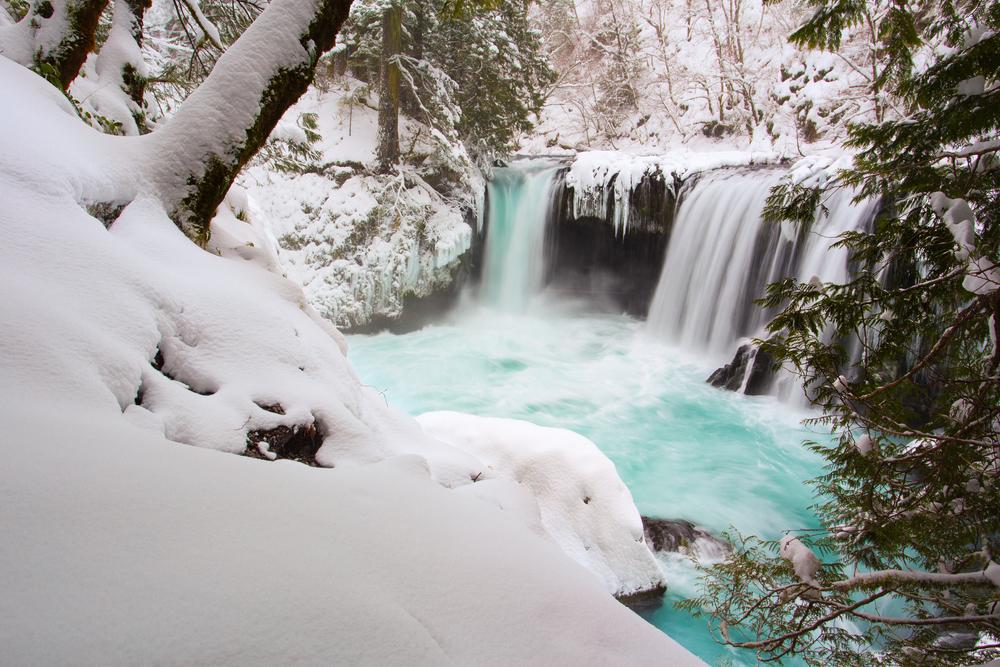 Spirit Falls Winter