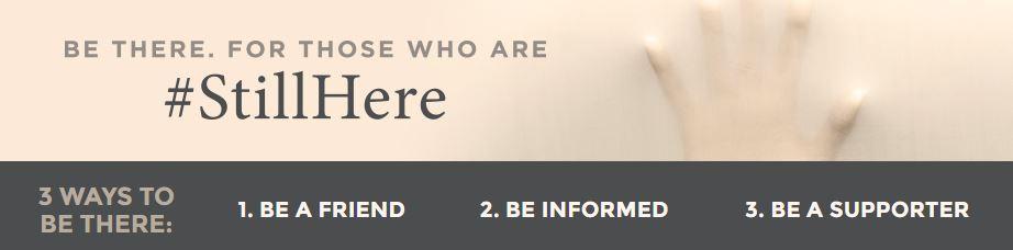 (Alzheimer Society of Canada http://www.alzheimer.ca/stillhere)
