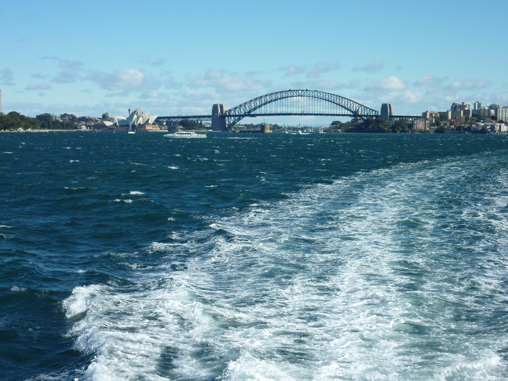 Sydney Harbor | View from water taxi en route to Watsons Bay