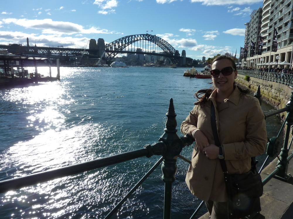 Mariela in Circular Quay (Sydney)